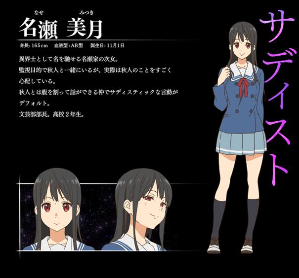 Personagem Mitsuki Nase