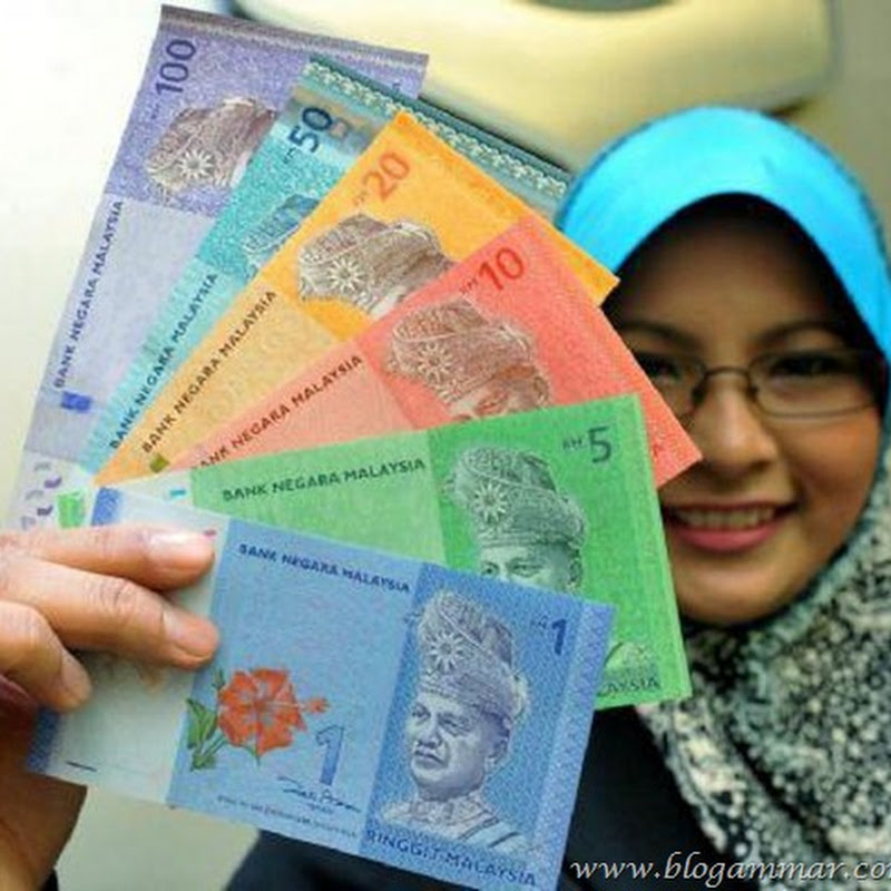 KOLEKSI DUIT KERTAS DAN SYILING RINGGIT MALAYSIA BARU 2012