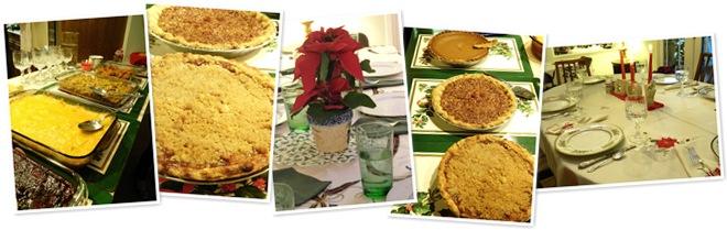 View Christmas dinner