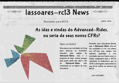As idas e vindas do Advanced-Rides, ou seria de seus novos CFRs (lassoares-rct3)