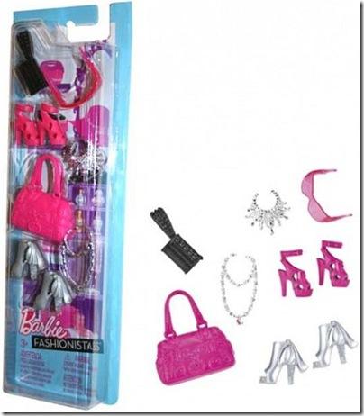 Barbie Akcesoria dla lalki X0110 Mattel N4811_pic1