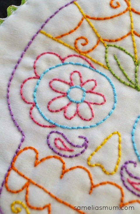 Sugar Skull Embroidery 2