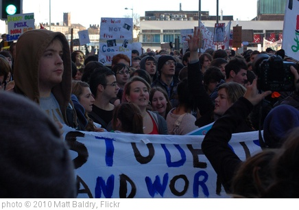 'Student Protest: Liverpool Walkout' photo (c) 2010, Matt Baldry - license: http://creativecommons.org/licenses/by/2.0/