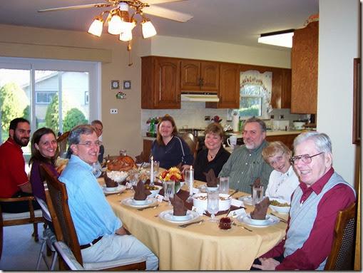 Thanksgiving Dinner 2006