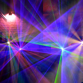 Lasers by Neil Hannam - Digital Art Things ( abstract, music, disco, artistic,  )