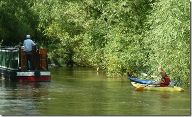 canoes on the cherwell