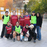 Equip Femen de Futbol a Barcelona. Novembre 2005