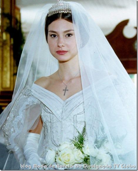 moda da novela força de um desejo - vestido de noiva da alice