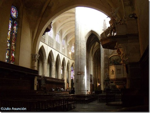 interior catedral Toulouse