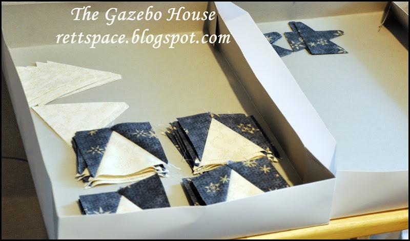 Indigo Stars quilt 003