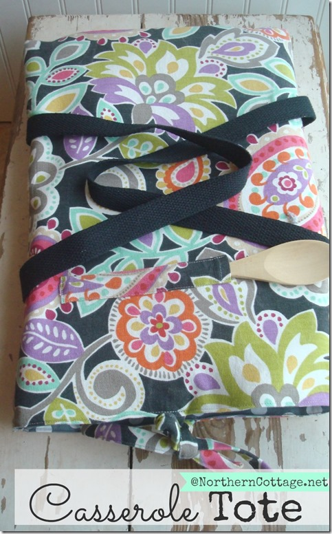 Casserole Tote @NorthernCottage.net
