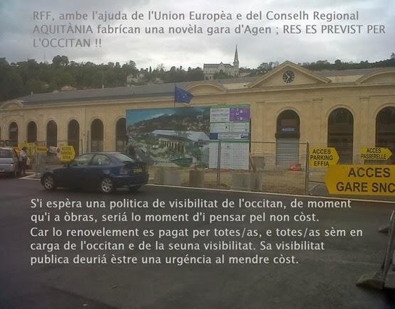 Res es previst per l'occitan a la gara d'Agen