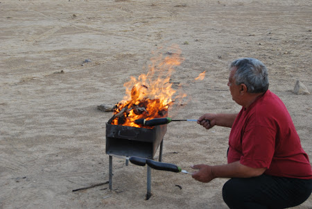 Foc la gratar in Turkmenistan