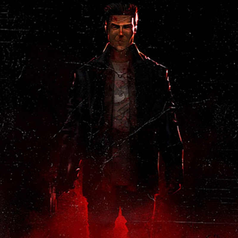 Max Payne en speed painting