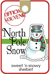 north pole snow_label