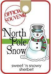 north pole snow_label