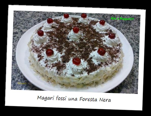 Fotografia della torta Magari fossi una Foresta Nera