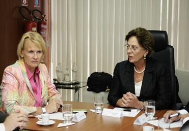 Governadora recebe comitiva alem  - Elisa Elsie (4)