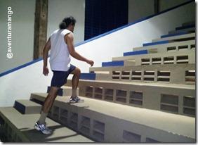 Treino em escada