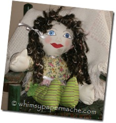 rag doll with apron