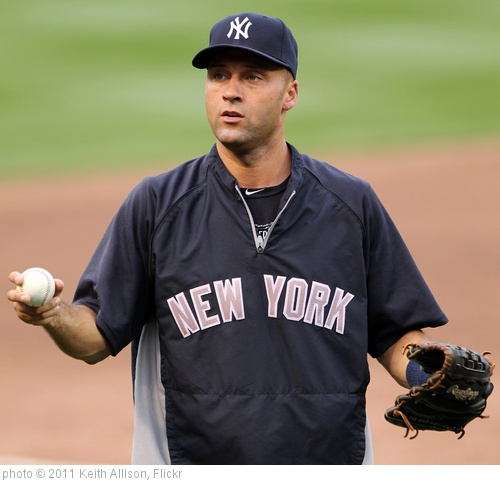 'Derek Jeter' photo (c) 2011, Keith Allison - license: http://creativecommons.org/licenses/by-sa/2.0/