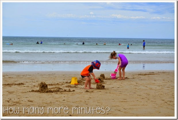How Many More Minutes? ~ Torquay Surf Beach