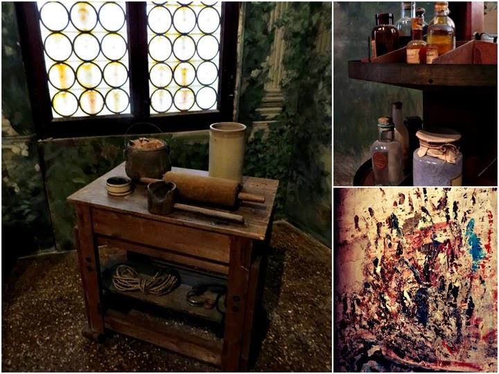 Studio di Mariano Fortuny, attrezzi pittore