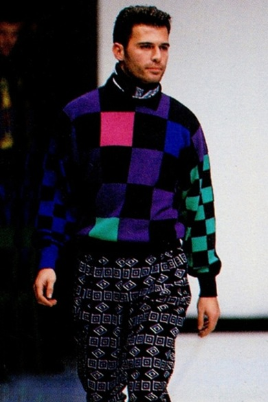 versace FW menswear 1993