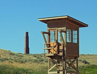Heart Mountain Guard Tower
