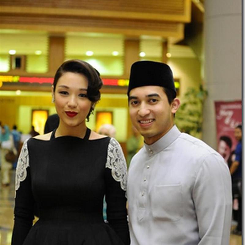 Marion dan SM Nasaruddin– pasangan bahagia.