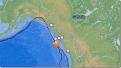 canada quake