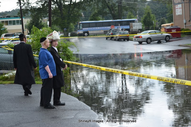 Flooding Caused By Rain At  Robert Pit & Melnik (Photos by Meir Rothman) - DSC_0116.JPG