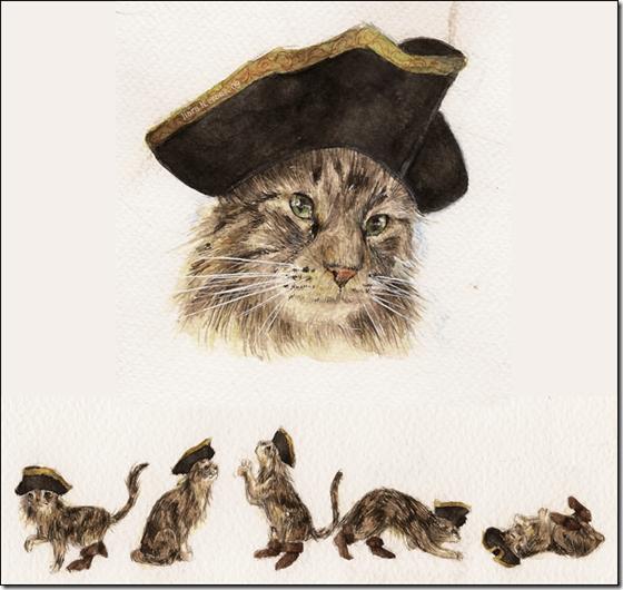 El Gato con Botas,El gato maestro,Cagliuso, Charles Perrault,Master Cat, The Booted Cat,Le Maître Chat, ou Le Chat Botté (9)