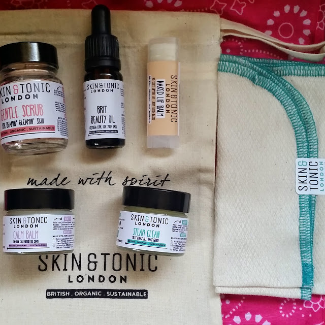 Skin & Tonic Christmas Gift Set.