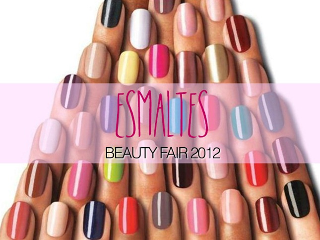 esmaltes beauty fair 2012
