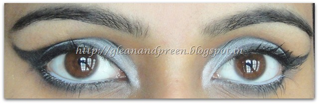Monochrome Eye Make Up