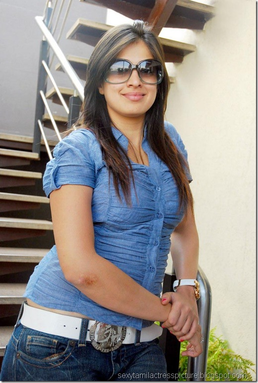 lakshmi_rai_tight_jeans_and_shirt_stills_09