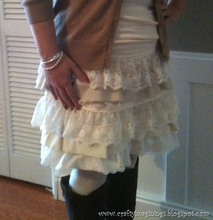 My DIY Petticoat Skirt