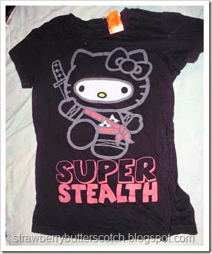 Hello Kitty Ninja t-shirt