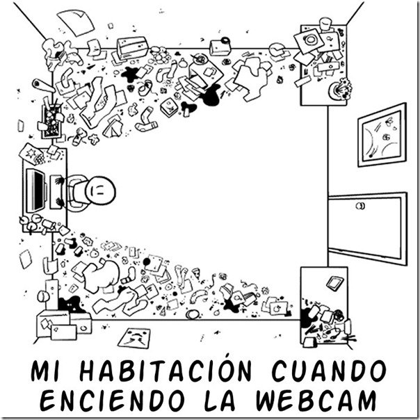 habiación para web cam
