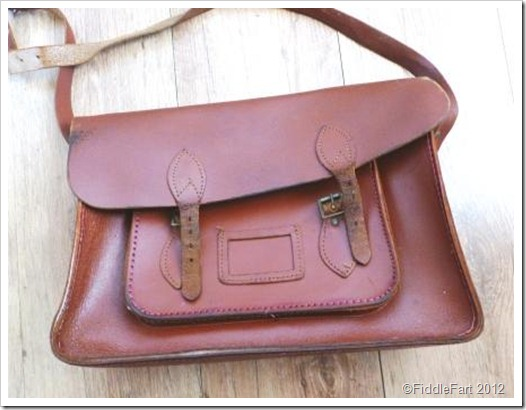 Vintage School Satchel