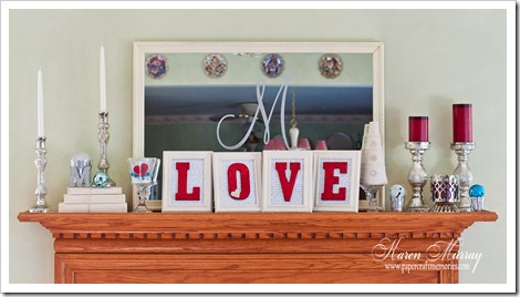Valentines Mantle