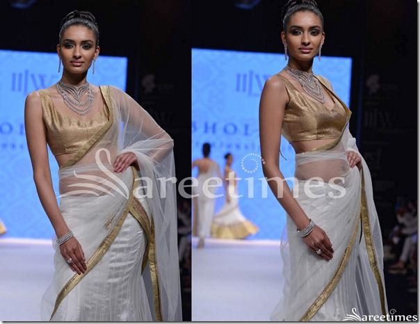 Day_2_IIJW_White_Net_Saree