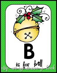 B is for Bell Pic