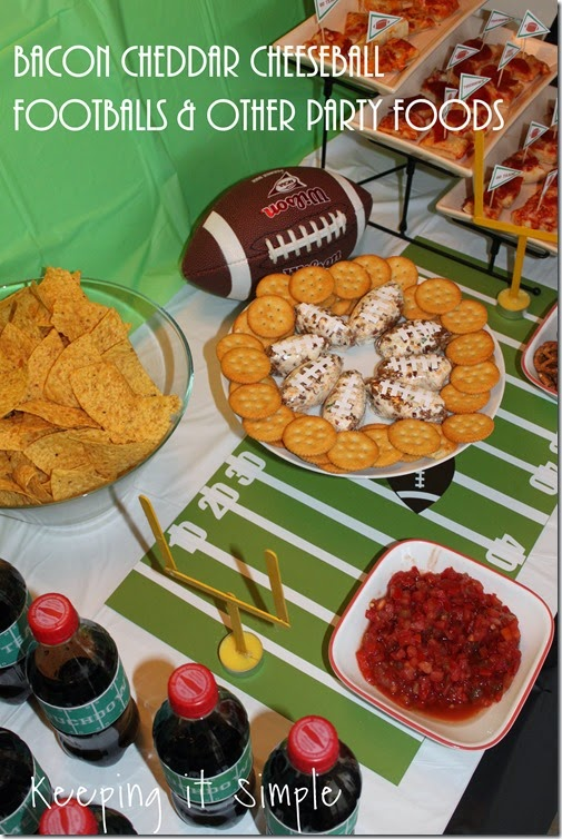 #ad Big-Game-Football-Party-Foods