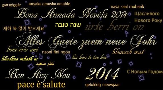 Bona annada 2014 Multilingüa
