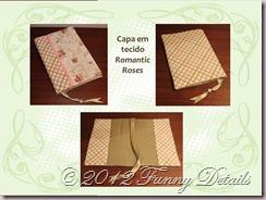 Capa em tecido Romantic Roses