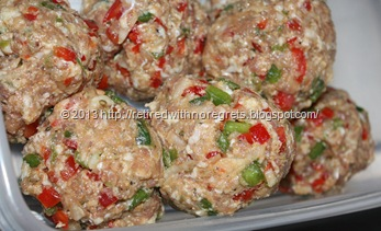 Revved Up Italian Sausage Burgers - shaped close-up