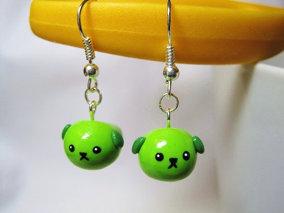 Mameshiba earrings