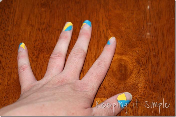 color blocking nails (11)